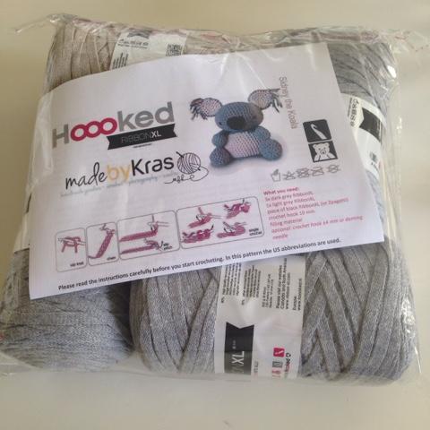 Koalabjørnen Sidney DIY Kit: Hæklede dyr